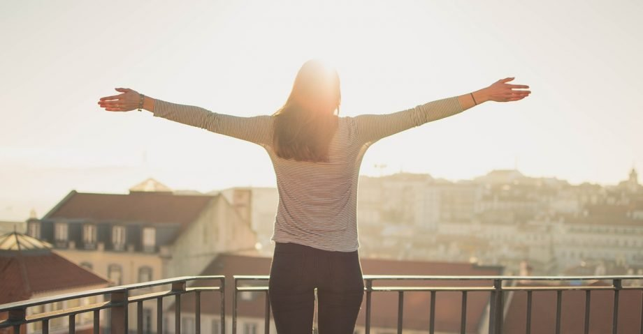 Sonne auf der Terrasse